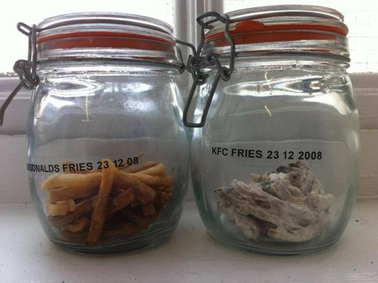 McDonalds vs KFC: Τηγανιτές πατάτες 3 ετών (2)