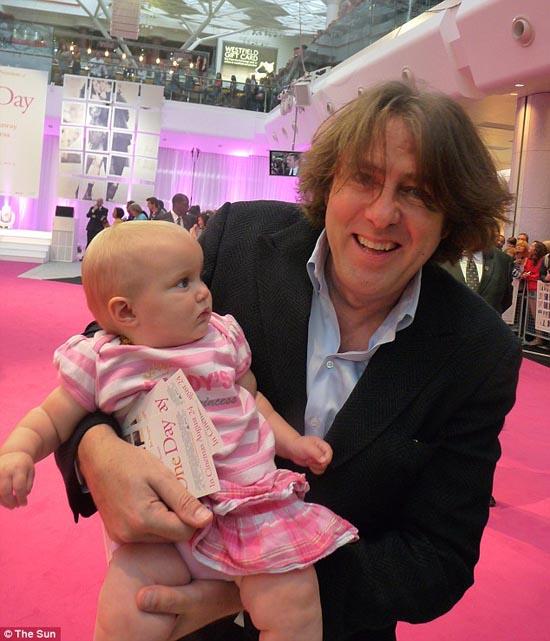 Μωρό ενός έτους έχει γνωρίσει 130 διάσημους (12)
