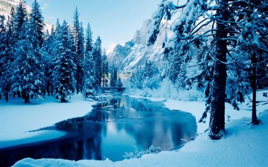 Φωτογραφία της ημέρας: Χιονισμένος παράδεισος