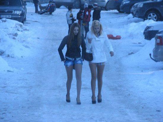Φωτογραφία της ημέρας: Κορίτσια παντός καιρού...