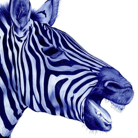 Εκπληκτικά πορτραίτα ζώων μόνο με ένα στυλό Bic (5)