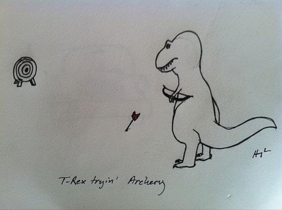 Οι προσπάθειες του T-Rex (3)