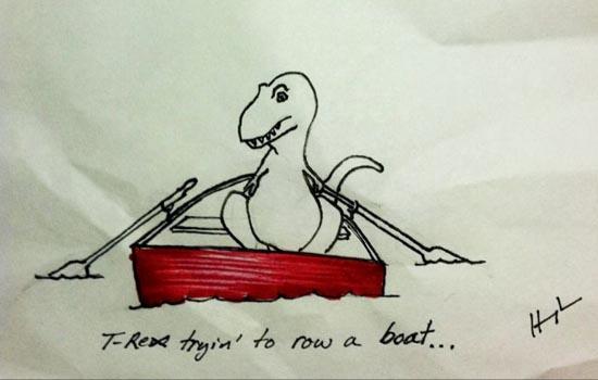 Οι προσπάθειες του T-Rex (6)