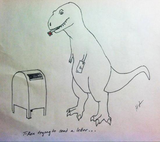 Οι προσπάθειες του T-Rex (12)