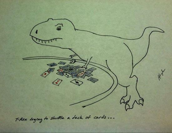 Οι προσπάθειες του T-Rex (13)
