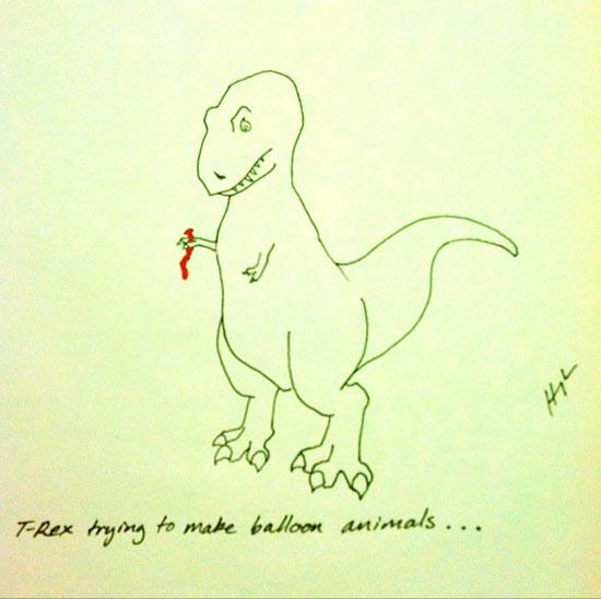 Οι προσπάθειες του T-Rex (20)