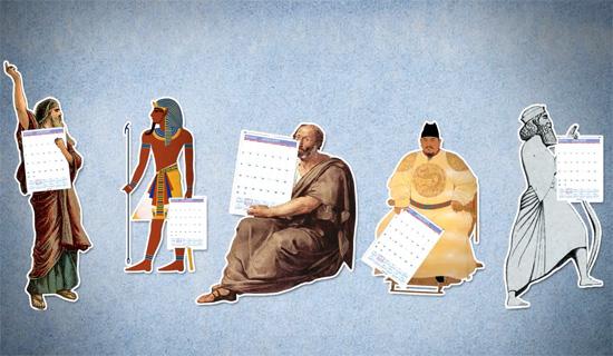 Η σύντομη ιστορία του μοντέρνου ημερολογίου