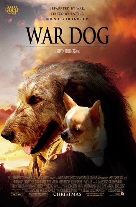 Διάσημες ταινίες σε εκδοχή με σκύλους (3)