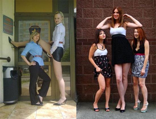 Οι ψηλότερες γυναίκες του κόσμου