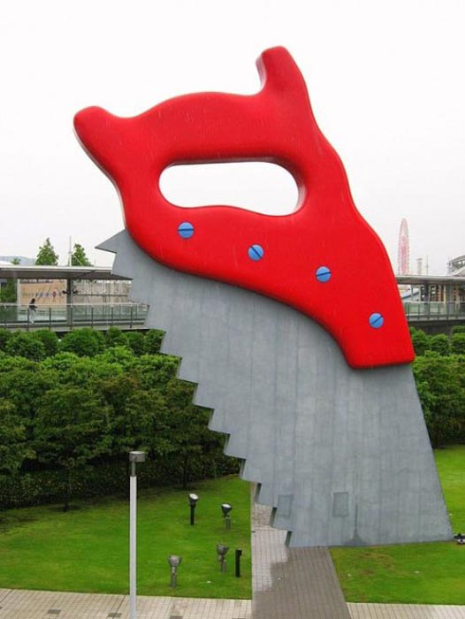 Η... τεράστια τέχνη του Claes Oldenburg (1)