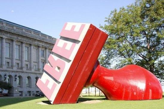 Η... τεράστια τέχνη του Claes Oldenburg (3)