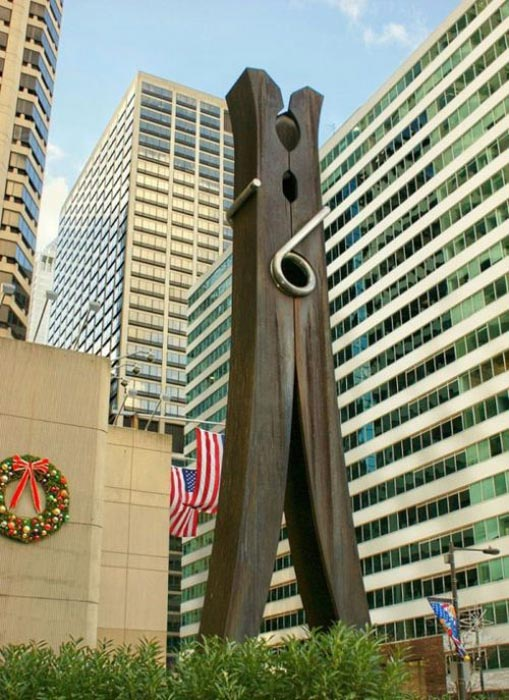 Η... τεράστια τέχνη του Claes Oldenburg (8)