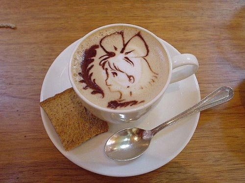 Υπέροχη τέχνη σε καφέ (22)
