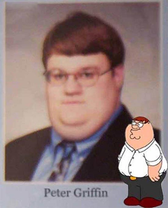 Άνθρωποι που μοιάζουν με διάσημους χαρακτήρες κινουμένων σχεδίων (5)