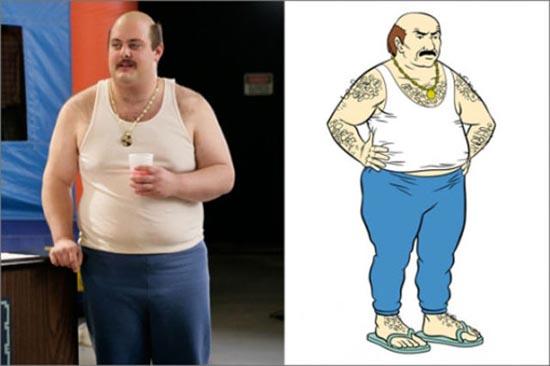 Άνθρωποι που μοιάζουν με διάσημους χαρακτήρες κινουμένων σχεδίων (11)