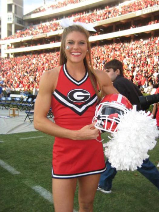 Ασυνήθιστη Cheerleader (13)
