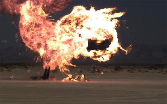 Έκρηξη αυτοκινήτου σε super slow motion