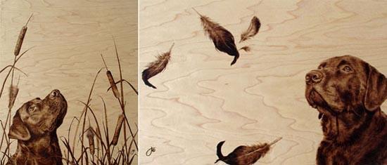Εντυπωσιακή τέχνη πυρογραφίας από την Julie Bender (4)