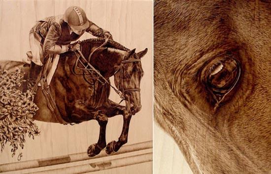 Εντυπωσιακή τέχνη πυρογραφίας από την Julie Bender (7)