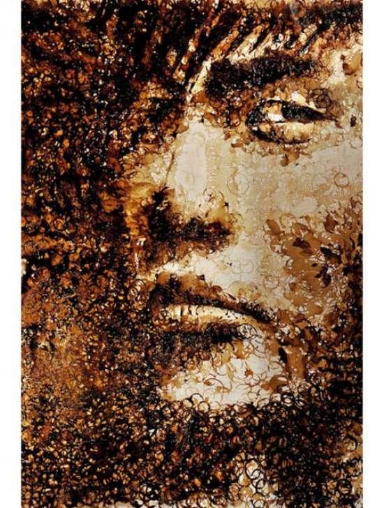 Έργα τέχνης με το κατακάθι του καφέ (1)