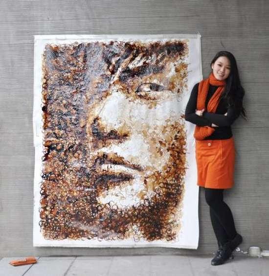 Έργα τέχνης με το κατακάθι του καφέ (3)