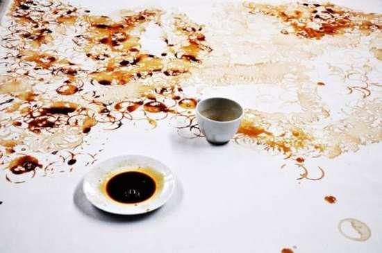 Έργα τέχνης με το κατακάθι του καφέ (4)