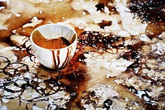 Έργα τέχνης με το κατακάθι του καφέ (5)