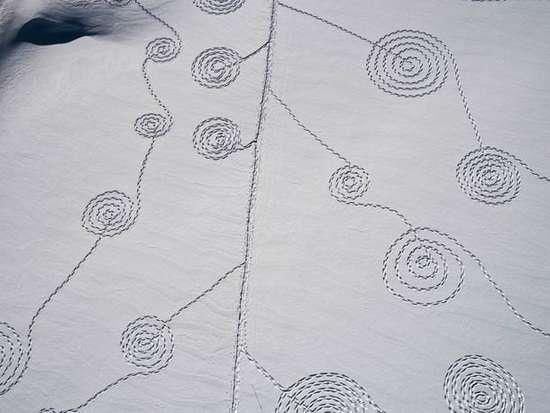 Γιγάντια σχέδια στο χιόνι από την Sonja Hinrichsen (5)