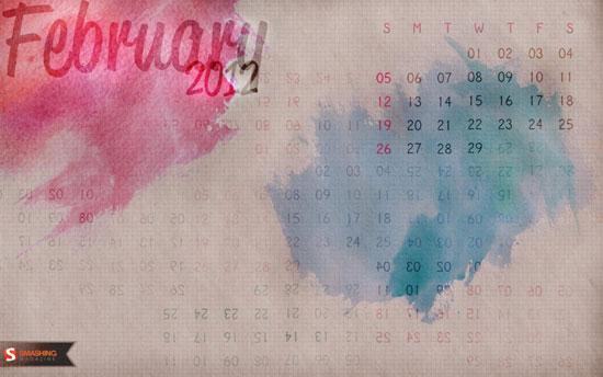 Wallpapers ημερολόγια Φεβρουαρίου 2012 (2)