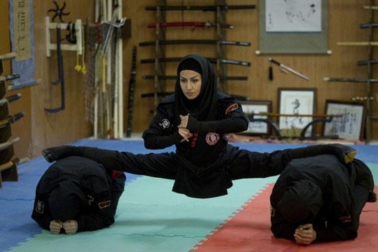 Οι γυναίκες ninja του Iran