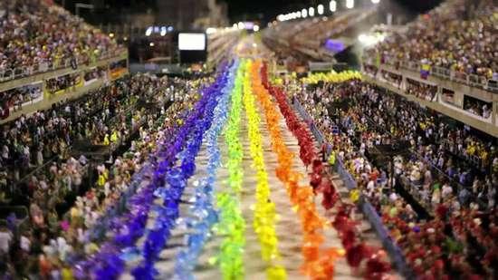Το καρναβάλι του Ρίο σε Tilt-Shift (1)