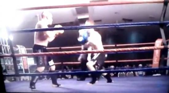 Έβγαλε knock-out... τον εαυτό του