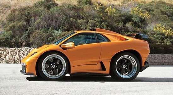 Πολυτελή αυτοκίνητα σε μορφή... Smart (1)