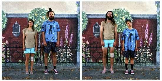 Ζευγάρια σε ανταλλαγή ρούχων (2)