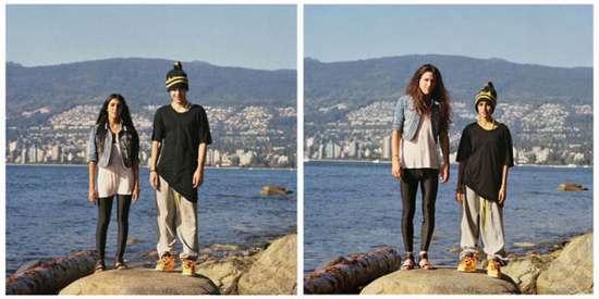 Ζευγάρια σε ανταλλαγή ρούχων (3)
