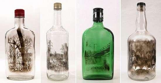 Ζωγραφική με καπνό μέσα σε μπουκάλια (4)