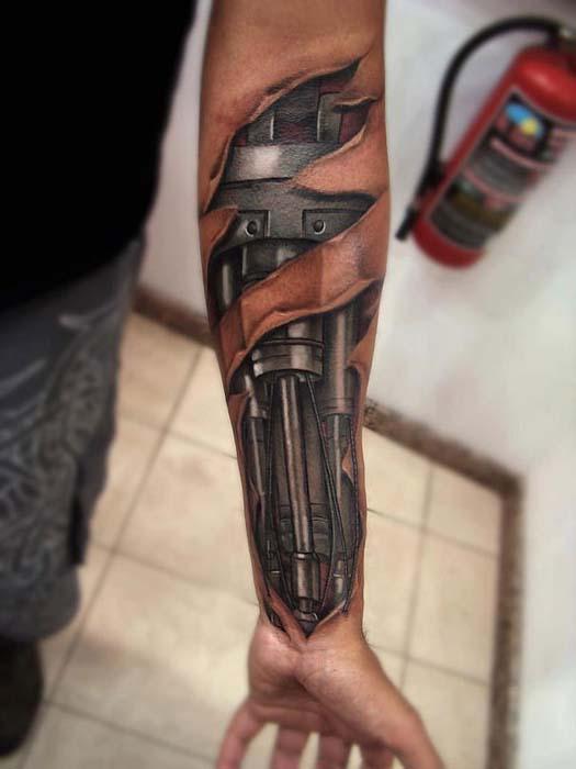Ανατριχιαστικά ρεαλιστικά τατουάζ από τον Yomico Moreno (1)