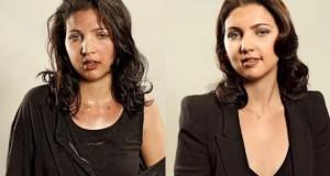 Άνθρωποι πριν και μετά τη γυμναστική