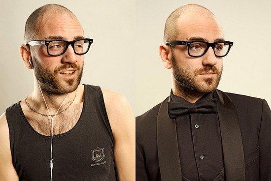 Άνθρωποι πριν και μετά τη γυμναστική (6)