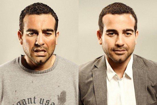 Άνθρωποι πριν και μετά τη γυμναστική (8)