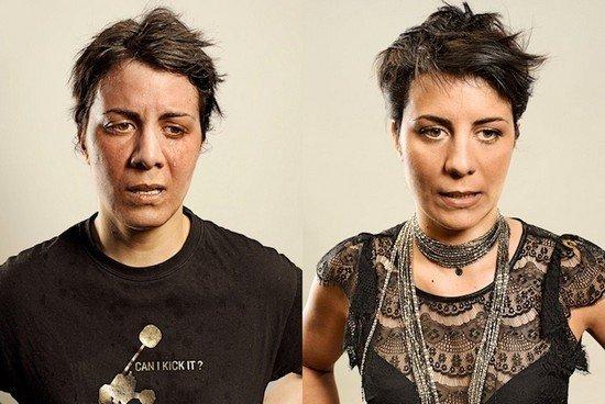 Άνθρωποι πριν και μετά τη γυμναστική (11)