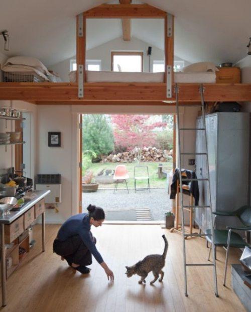 Εντυπωσιακή μετατροπή ενός γκαράζ σε σπίτι (7)