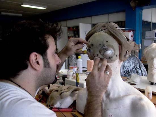 Πως δημιουργήθηκε ο Faun από την ταινία «Ο Λαβύρινθος του Πάνα» (6)