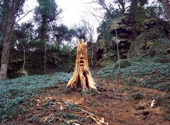 Απίστευτα γλυπτά με αλυσοπρίονο σε κορμούς δέντρων (5)