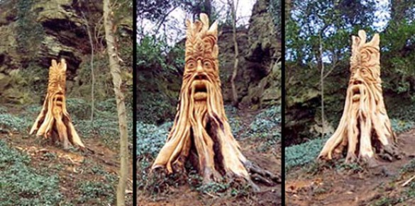 Απίστευτα γλυπτά με αλυσοπρίονο σε κορμούς δέντρων (13)
