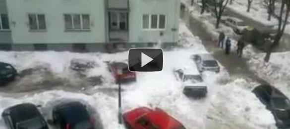 Οι κίνδυνοι της... χιονόπτωσης