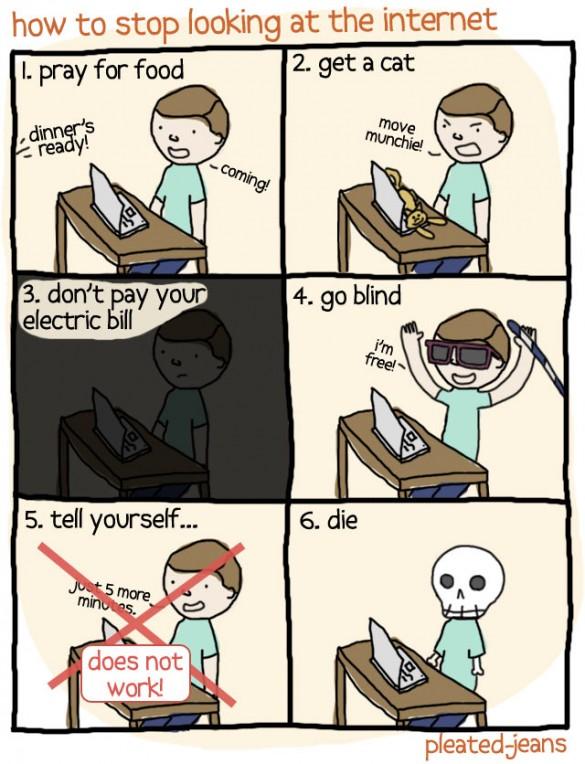 6 τρόποι για να ξεκολλήσετε από το Internet
