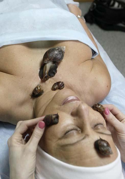 Μασάζ με σαλιγκάρια (4)