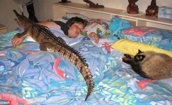 Σοκαριστικές εικόνες με παιδιά και επικίνδυνα ζώα (6)