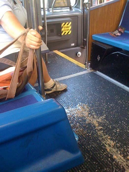 Τα πιο παράξενα περιστατικά στο λεωφορείο (4)